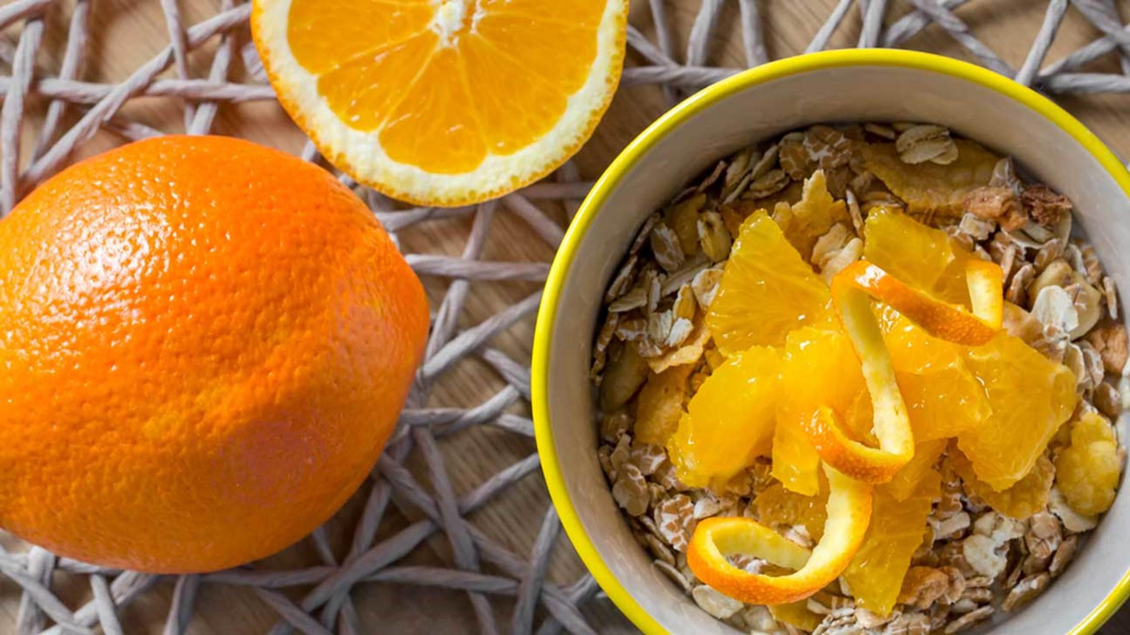 آیا پوست پرتقال قابل خوردن است ؟