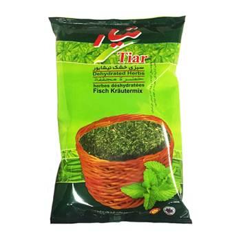 سبزی قلیه ماهی خشک