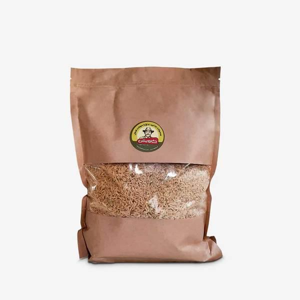 برنج قهوه ای عمده کاویش